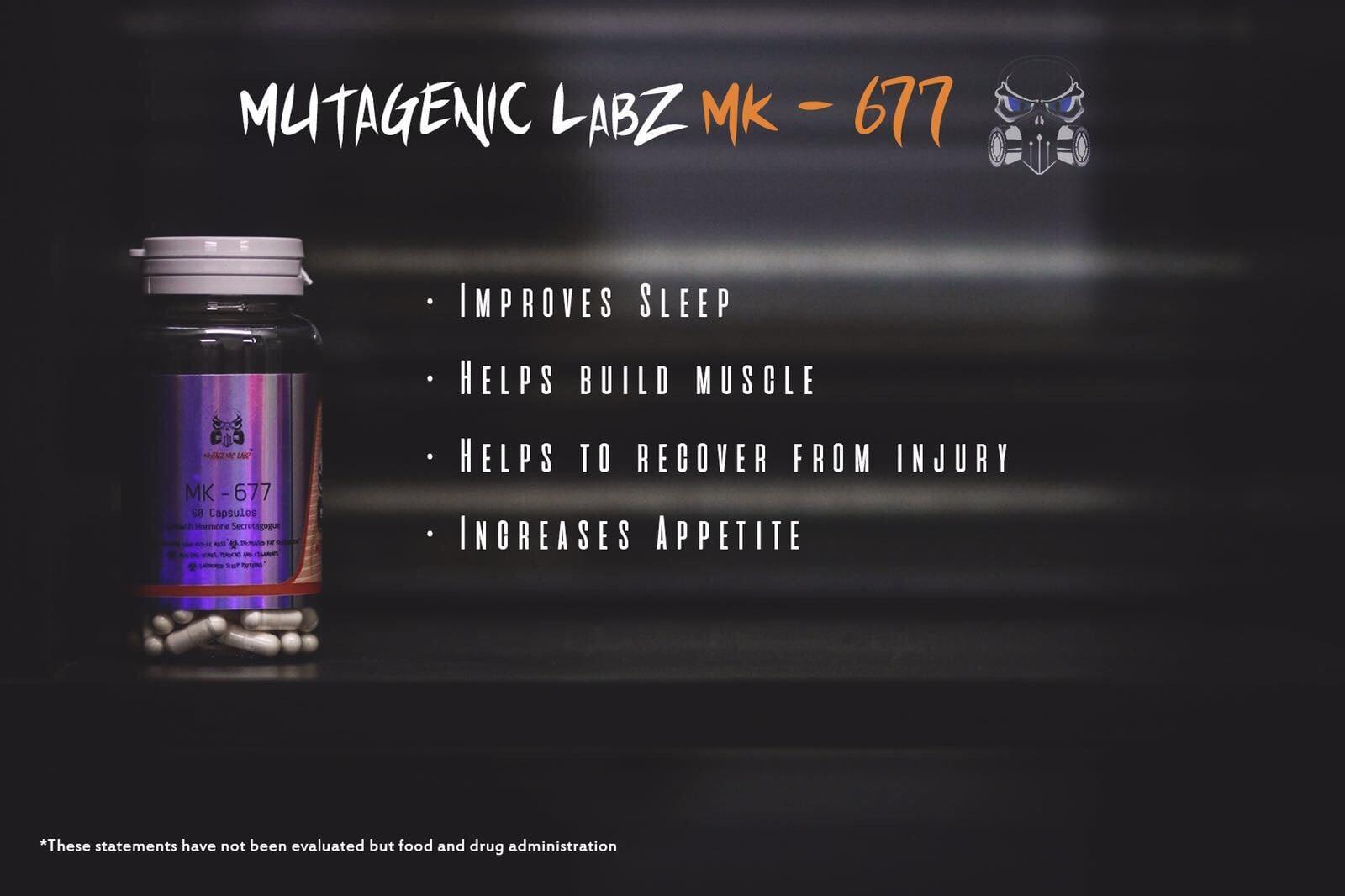 Mutagenic Labz MK-677